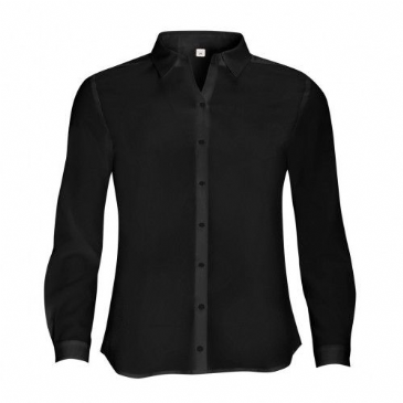 01433 SOL'S Ladies Betty Long Sleeve Moss Crepe Shirt